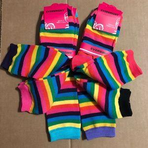 6 pairs - Colorful Crew Socks